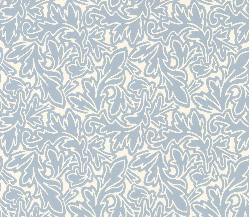 Farrow & Ball Feuille Blue Wallpaper - Product code: BP 4905
