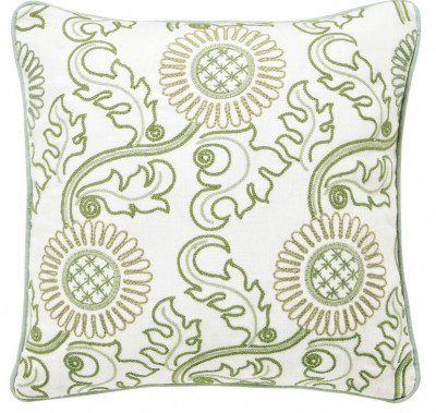 Image of Morris Cushions Willow Bough Sage Green Cushion, 105230