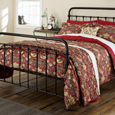 Morris Strawberry Thief Crimson Double Duvet Duvet Cover