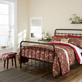Morris Strawberry Thief Crimson King Size Duvet Duvet Cover