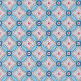 Pip Wallpaper Geometric Blue Wallpaper