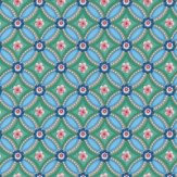 Pip Wallpaper Geometric Emerald Green Wallpaper