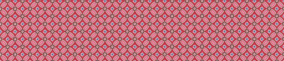 Pip Wallpaper Geometric Ruby Red Main Image