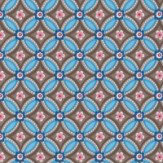 Pip Wallpaper Geometric Chocolate Brown Wallpaper