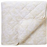 Sanderson Pyramus Quilted Throw Linen