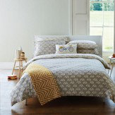Scion Snowdrop Super King Duvet Duvet Cover