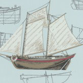 Eijffinger Boat Plans  Duckegg Wallpaper
