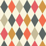 Cole & Son Punchinello Mult-coloured Wallpaper