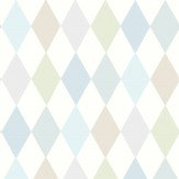 Cole & Son Punchinello Soft Blue Wallpaper