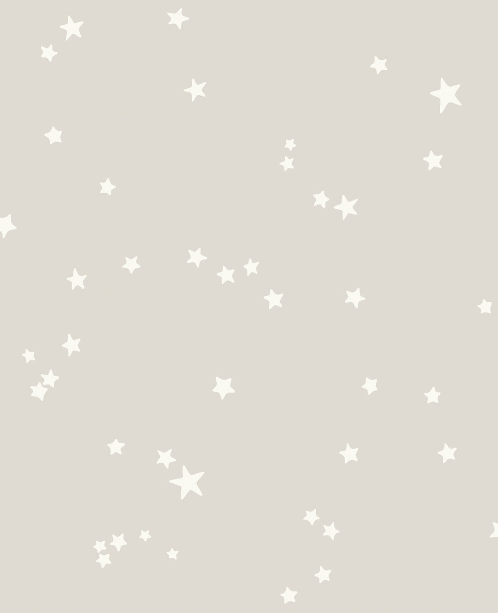 Woods And Stars By Cole Son Black And White Wallpaper
