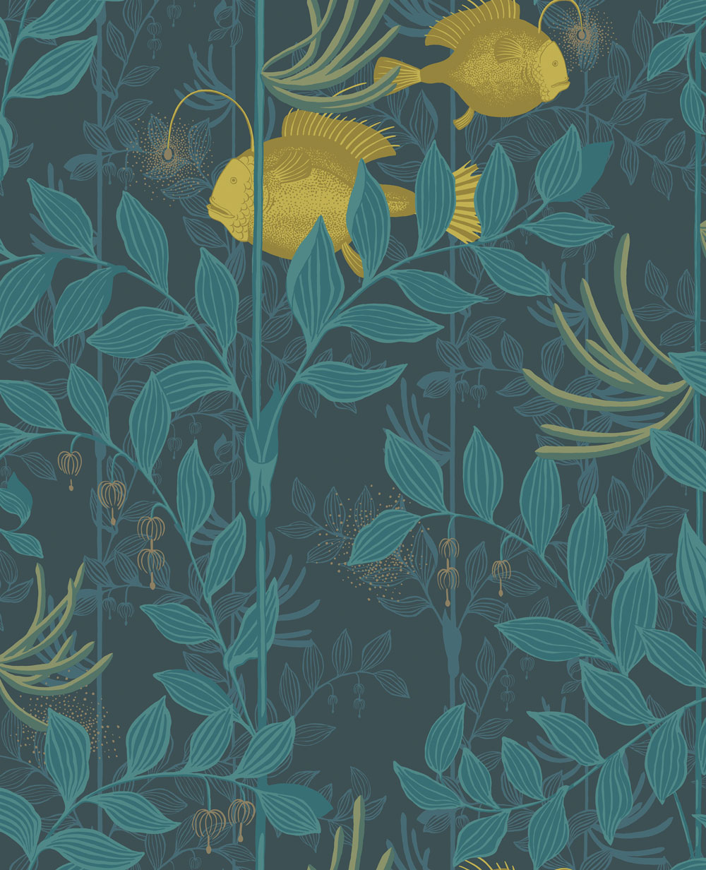 cole u0026 son nautilus dark blue wallpaper