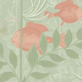 Cole & Son Nautilus Soft Green Wallpaper
