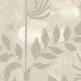 Cole & Son Nautilus Neutral and Gilver Wallpaper
