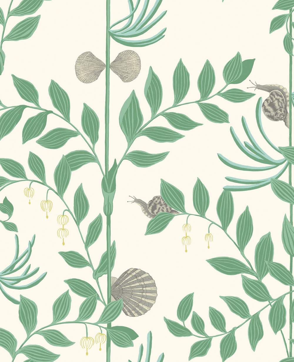 Cole & Son Secret Garden Dark Green Wallpaper main image