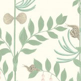 Cole & Son Secret Garden Soft Green Wallpaper