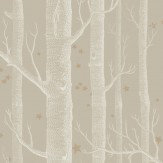 Cole & Son Woods and Stars Linen Wallpaper