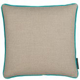 Clarke & Clarke Lindow Cushion Linen & Bluebird
