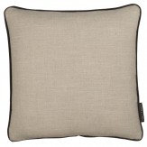 Clarke & Clarke Lindow Cushion Linen & Charcoal