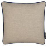 Clarke & Clarke Lindow Cushion Linen & Indigo