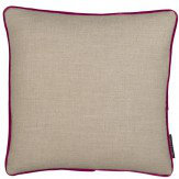 Clarke & Clarke Lindow Cushion Linen & Passion