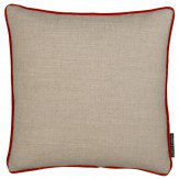 Clarke & Clarke Lindow Cushion Linen & Spice
