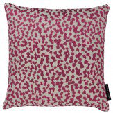 Clarke & Clarke Lynx Cushion Berry