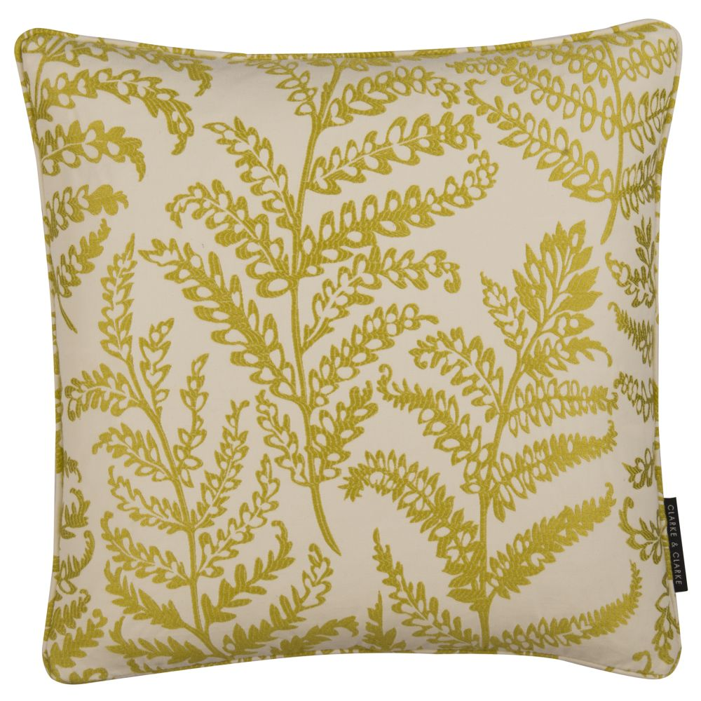 Clarke & Clarke Wild Fern Cushion Citrus main image