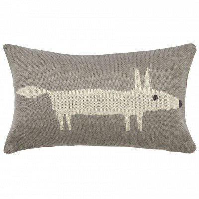 Image of Scion Cushions Mr Fox Knitted Cushion, 316205