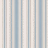 Little Greene Colonial Stripe Classic Blue Wallpaper - Product code: 0286CLCLASS