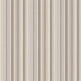 Little Greene Tailor Stripe Taupe Wallpaper