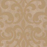 Albany Crocodile Glitter Damask Gold Wallpaper - Product code: 20714