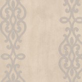 Albany Crocodile Glitter Scroll Stone Wallpaper