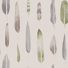 Mini Moderns Feathers British Lichen Wallpaper - Product code: AZDPT024BL