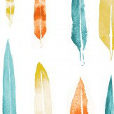 Mini Moderns Feathers Lido Wallpaper