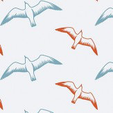 Mini Moderns Gulls Chalkhill Blue Wallpaper