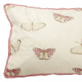 iliv Decoupage Butterfly Cushion Rose Red