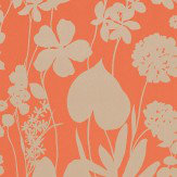 Harlequin Nalina Papaya Wallpaper - Product code: 111047