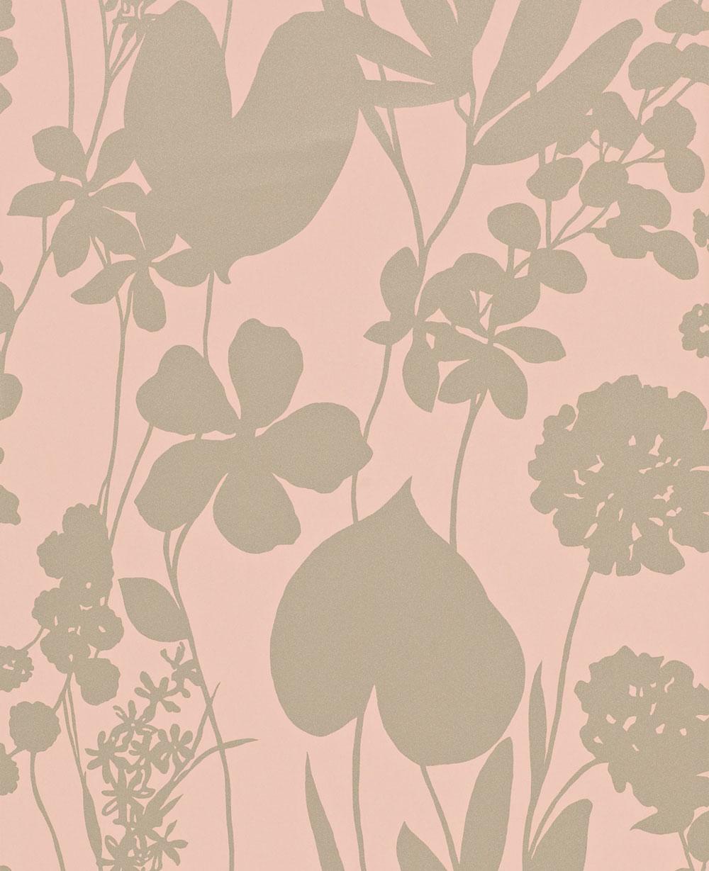 Nalina By Harlequin Peach Wallpaper Direct