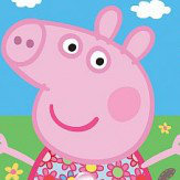 Walltastic Peppa Pig bedroom in a box Wallpaper