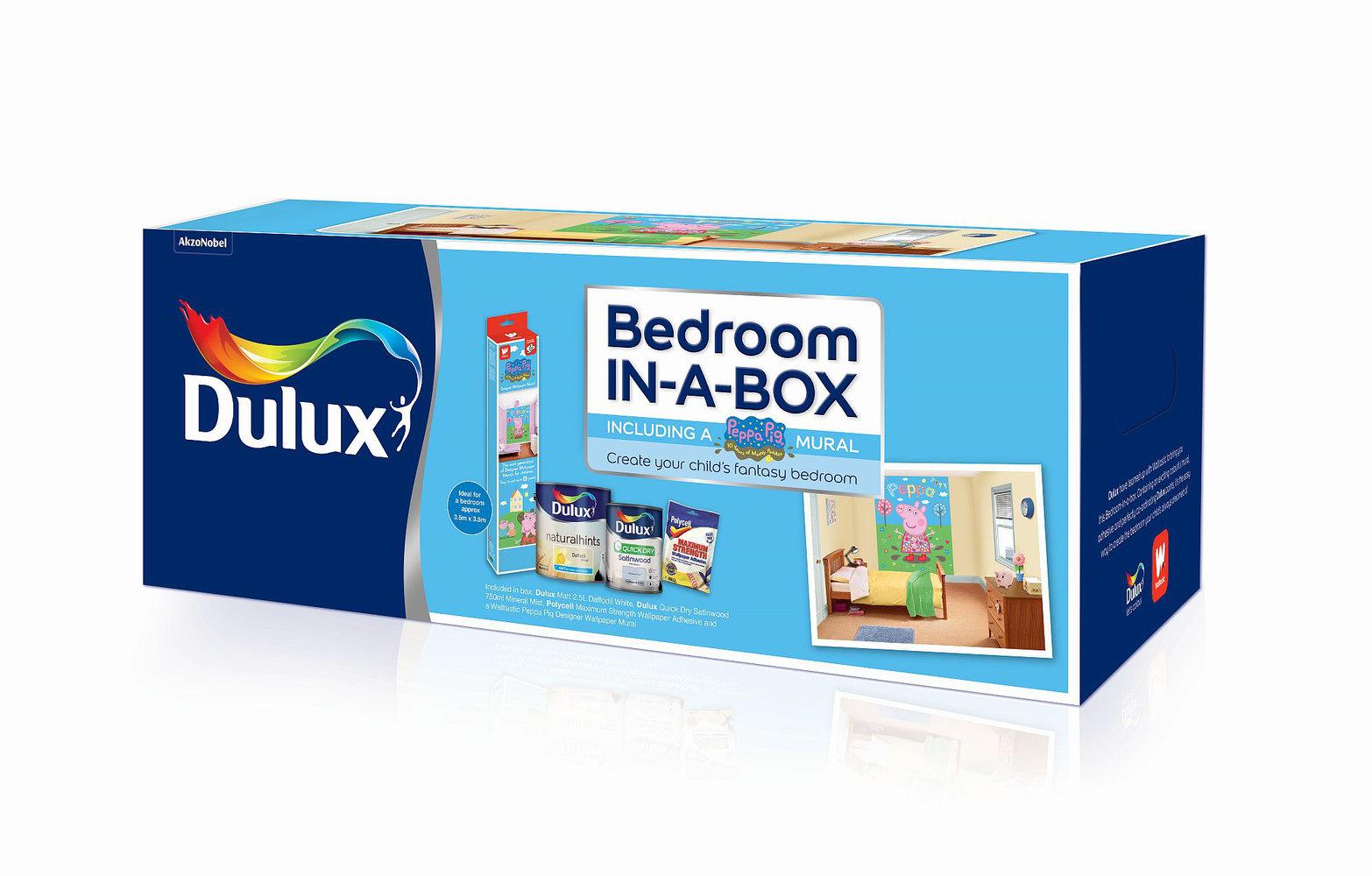Walltastic Peppa Pig bedroom in a box Multi Wallpaper extra image