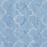 Designers Guild Chinese Trellis Cobalt Wallpaper