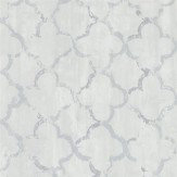 Designers Guild Chinese Trellis Platinum Wallpaper