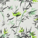 Designers Guild Bamboo Lime Wallpaper