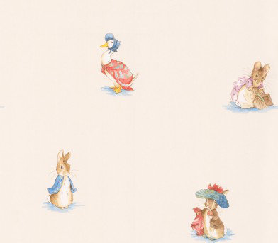 Image of Jane Churchill Wallpapers Beatrix Potter, J067W-01