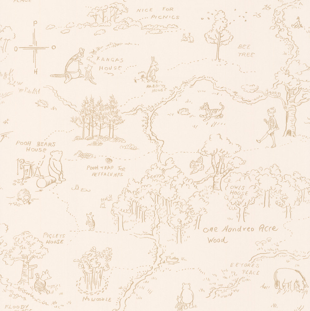 Hundred Acre Wood Map Poster on 100 aker wood map, city map, drawing of a town map, gemini map, kingdom hearts 100-acre wood map, wooden story map, 100-acre wood rally map, 100-acre wood forest map, once upon a time map,