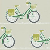 Scion Cykel Ivy, Apple and Slate Wallpaper - Product code: 111102
