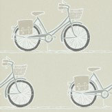 Scion Cykel Pumice, Pewter and Slate Wallpaper