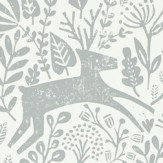 Scion Kelda Pewter Wallpaper - Product code: 111104