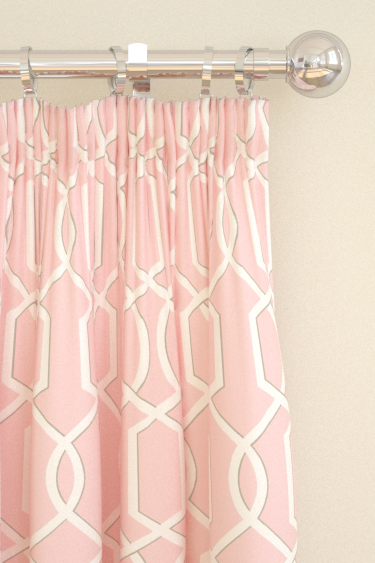 Blendworth Cheyne Pink Curtains - Product code: CHEYNE 1