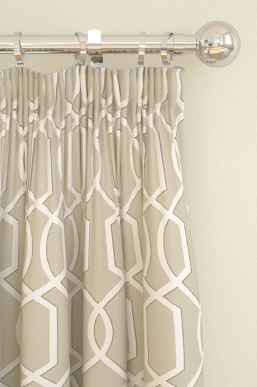 Blendworth Cheyne Taupe Curtains - Product code: CHEYNE 2